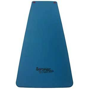 Blue 72-inch workout mat with eyelets from Overstock photo