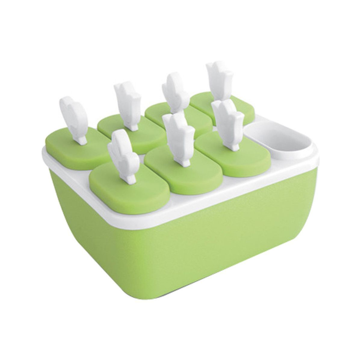 Houzz lime green popsicle ice cream mold photo