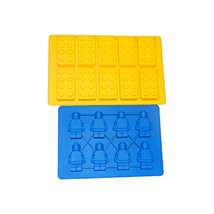 Houzz building bricks and mini-figure ice cube tray photo