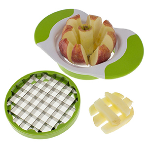 Houzz 2-in-1 vegetable and fruit cutter photo