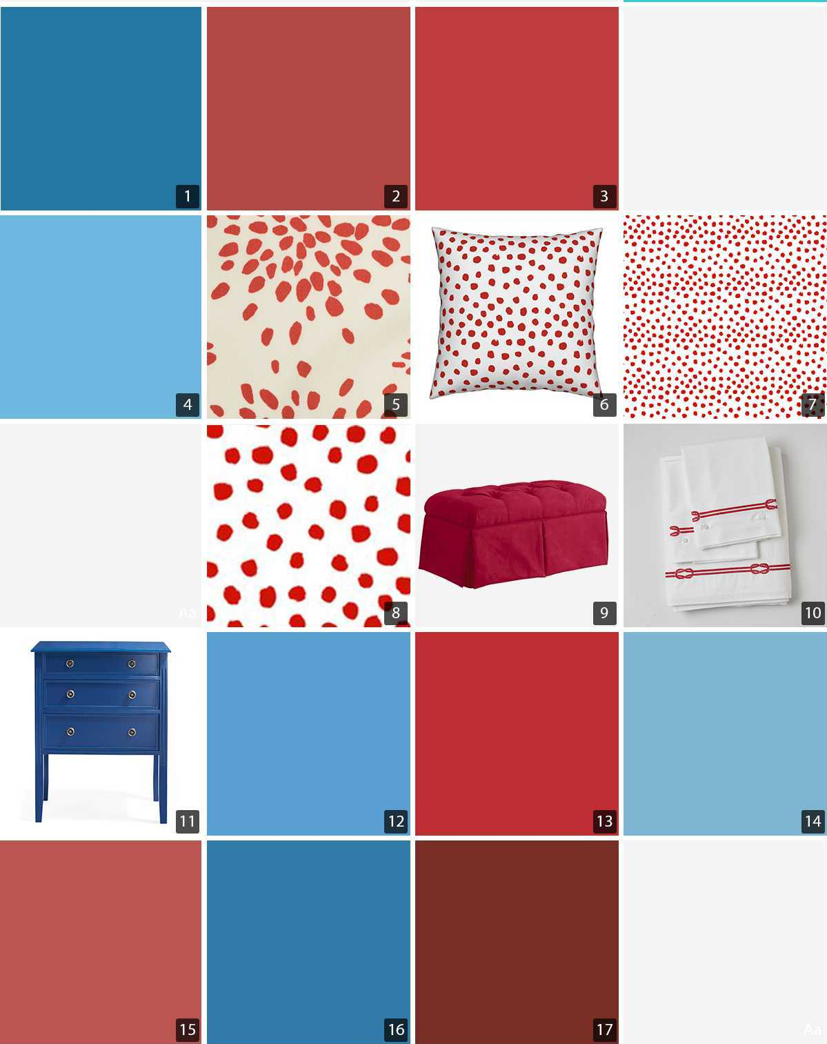 Collage Of Blue And Red Paint Chips Home Products Wallpapers Photo