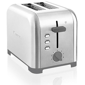 Silver 2-slice Kenmore toaster. photo
