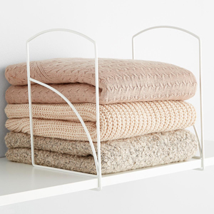 Lynk Tall White Shelf Dividers from The Container Store photo