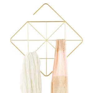 Umbra Pendant Scarf and Accessory Holder in gold from The Container Store photo