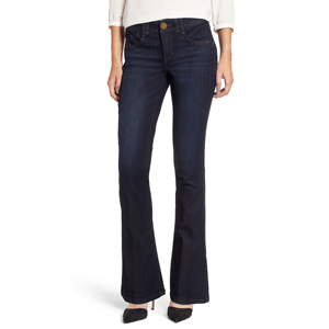 Dark wash bootcut jeans from Nordstrom photo