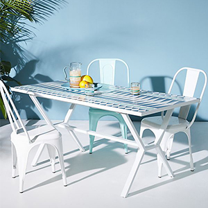 Patio Furniture, Cabo Indoor/Outdoor Dining Table photo