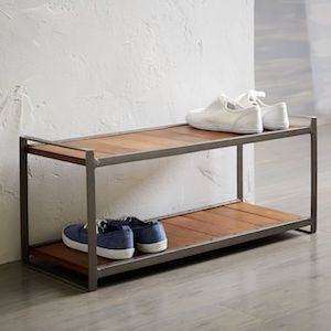 Industrial Shoe Rack from West Elm photo