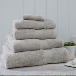 Gray Egyptian bath towels from Nordstrom photo