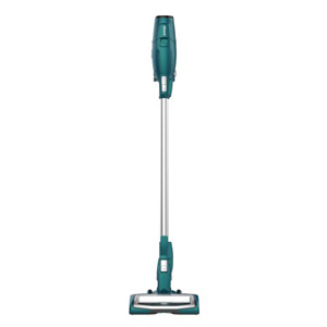 Shark cordedless vacuum in silver and teal from Walmart photo