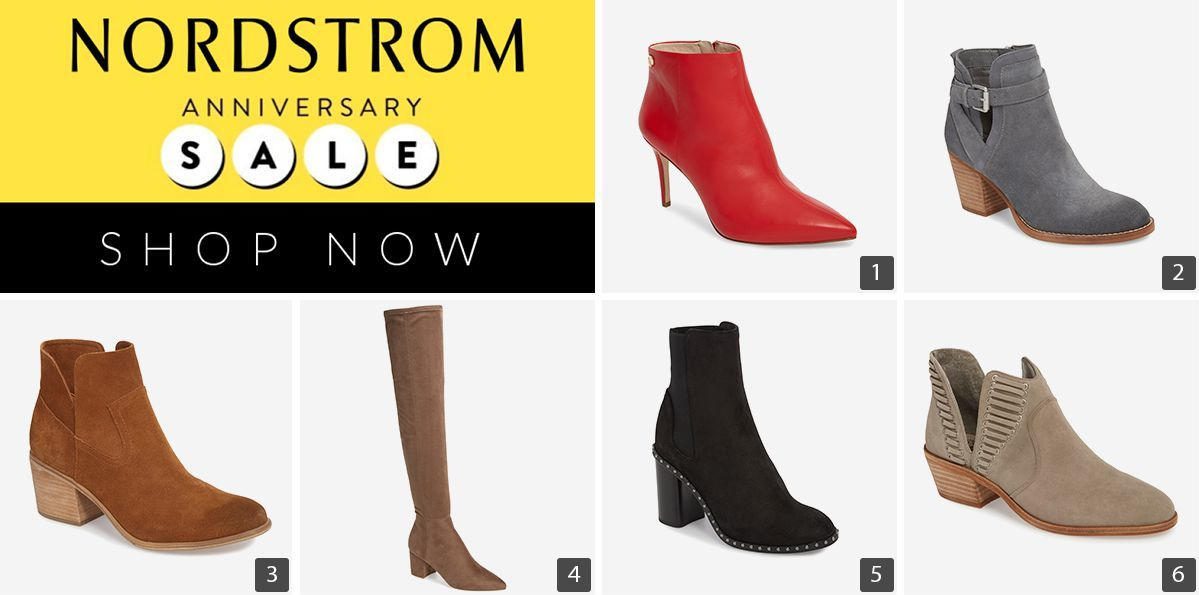 Nordstrom Anniversary Sale with 6 different boots and booties photo