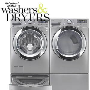 Silver washer and dryer featured in Better Homes & Gardens August 2018 magazine photo