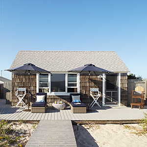 Beach house featured in Better Homes & Gardens August 2018 magazine photo
