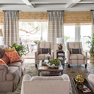 Living room featuring in  <strong>Better Homes & Gardens August 2018 magazine</strong> photo