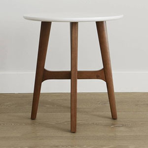 walmart roundabout side table photo