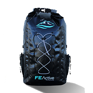 FE Active 30L waterproof backpack in navy blue photo