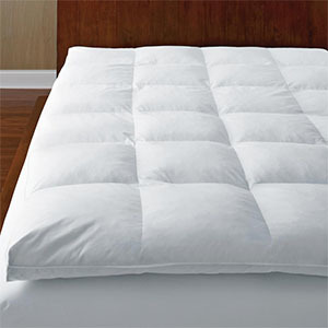 Home Depot featherbed mattress topper photo