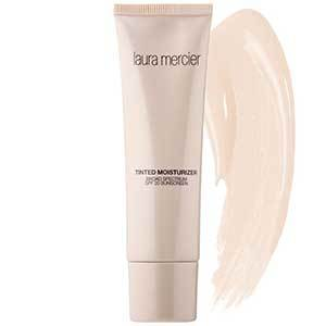 Laura Mercier tinted moisturizer with SPF 20 in a light shade photo