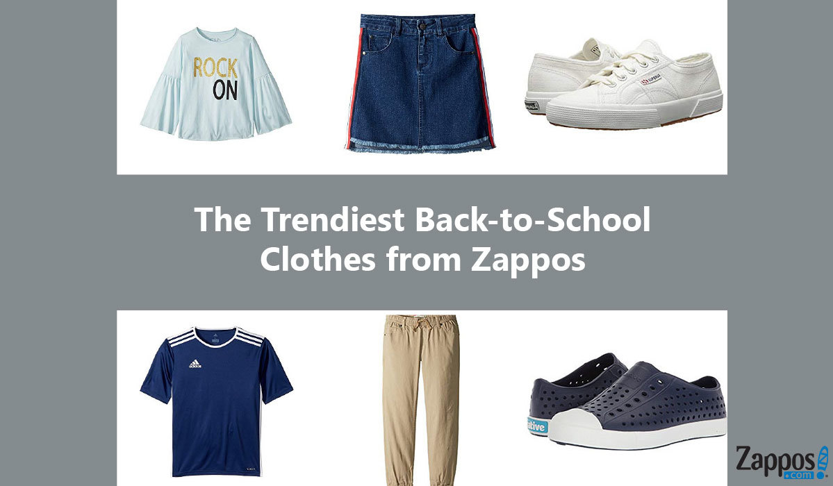 The Trendiest Back-to-School Clothes from Zappos