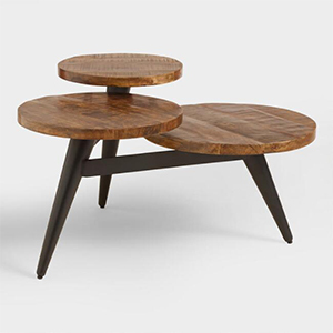 Three level coffee table from World Market photo