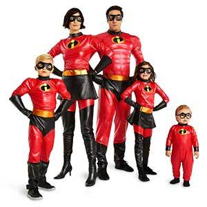 Disney Halloween Costumes The Incredibles photo