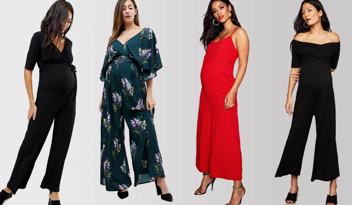 2e98f11b60 Stay On-Trend in These Maternity Jumpsuits and Rompers for Every Occasion