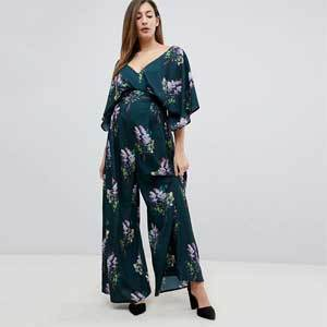 Maternity Jumpsuit ASOS Bluebelle photo