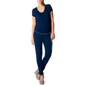 Nordstrom Chloe Blue Maternity Jumpsuit photo