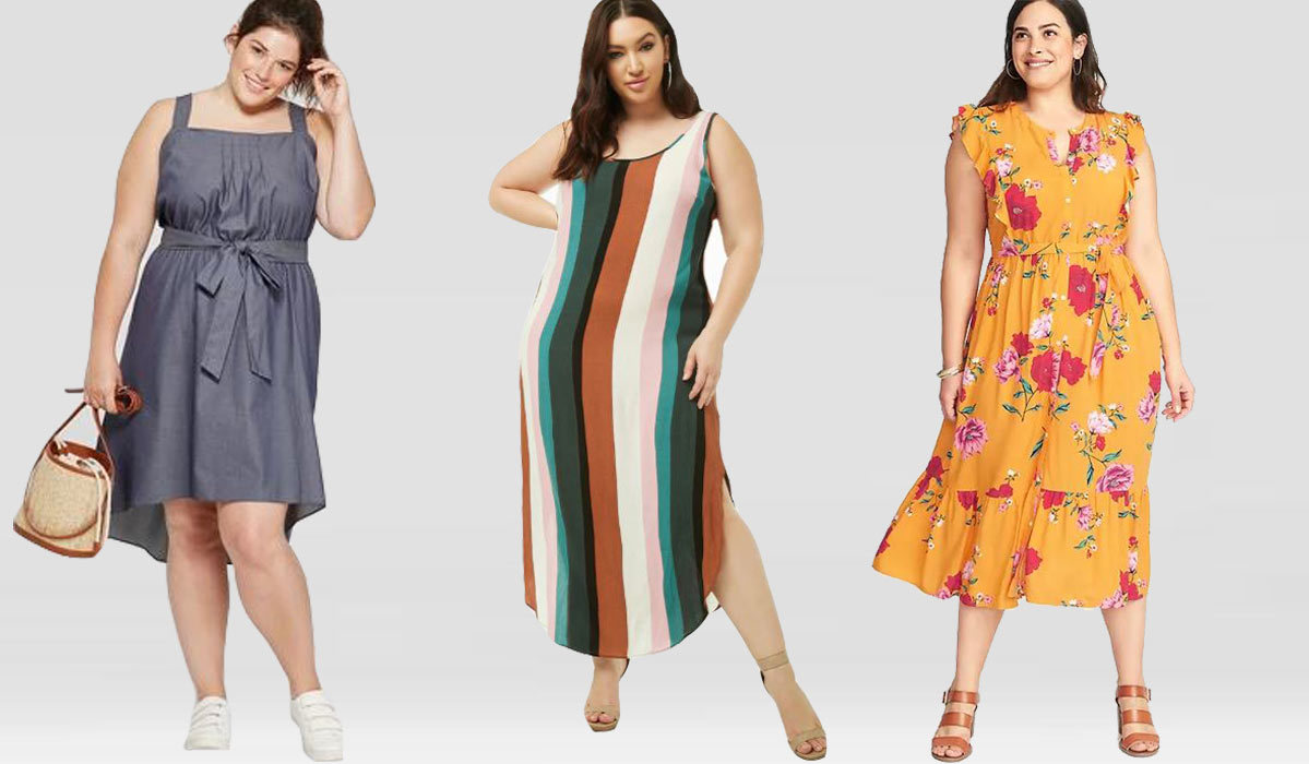 6 Pretty Plus-Size Dresses Every Curvy Girl Needs—All Under $70