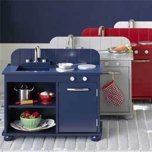 Playroom Pottery Barn Kids My First Kitchen photo