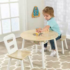 Playroom Toddler Table and Chairs photo