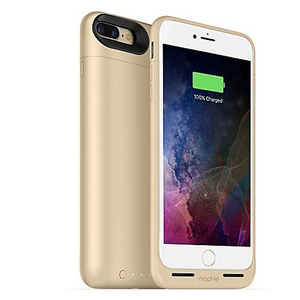 Charger case iPhone 7 Plus in gold photo