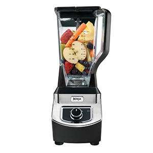 The Home Depot Ninja Professional Blender with fruit ready to blend photo