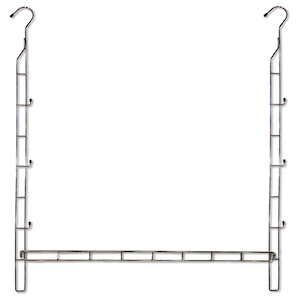 Adjustable closet rod hanger from Houzz. photo