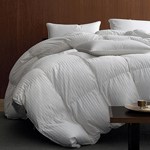 The Home Depot white goose down comforter photo