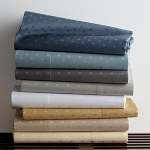 The Home Depot sheet set in dot pattern photo