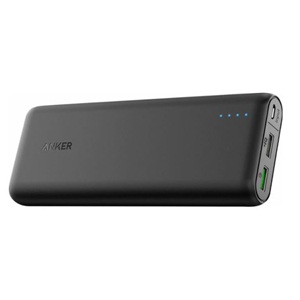 Anker PowerCore black portable charger from Best Buy. photo