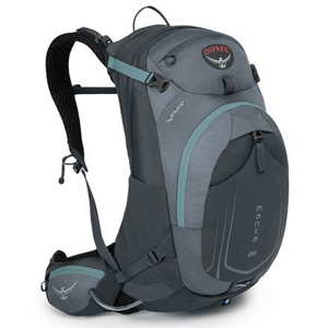 OSPREY Hydration Pack in black and charcoal gray from EMS. photo