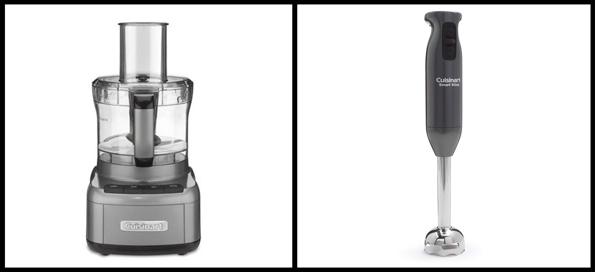 Cuisinart food processor and immersion blender photo
