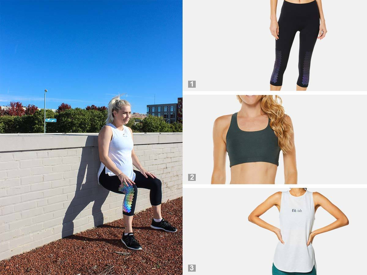 Collage of SHAPE Activewear products photo