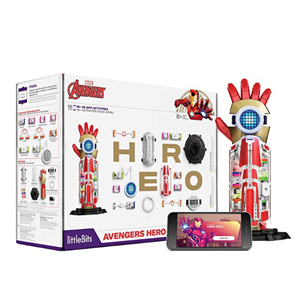 Inventor kit that helps kids build an Avengers Hero arm photo