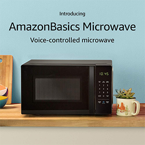 AmazonBasics Microwave with voice-activated controls photo