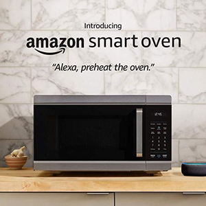 AmazonBasics Smart Oven with voice-activated controls photo