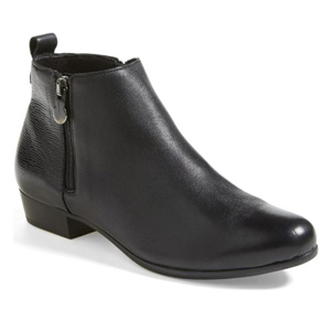 Black Munro booties with short heel from Nordstrom photo