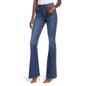 Holly High Waist Flare Jeans on sale at Nordstrom photo