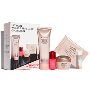 Shiseido gift set with anti-aging products photo