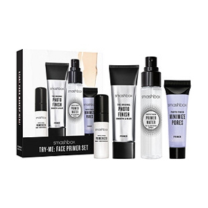 Smashbox gift set with four different primers for your face from Ulta photo
