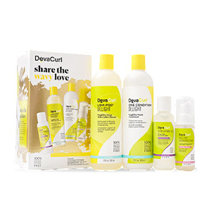 DevaCurl set with four products for wavy hair from Ulta photo
