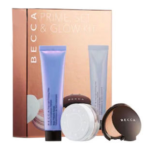 Set of three: prime, set, and glow by Becca. photo