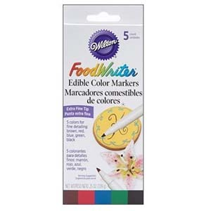 Edible markers by Wilton photo