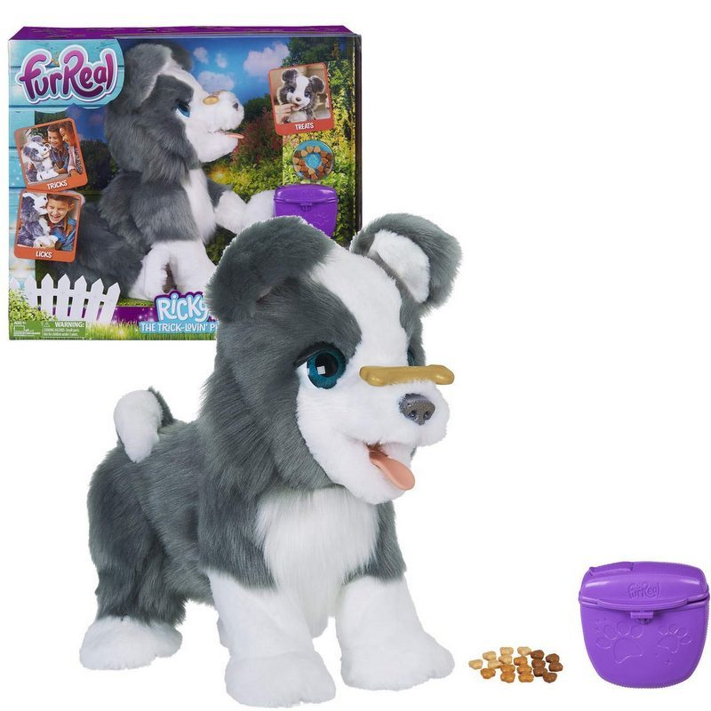 FurReal Friends Ricky, the Trick-Lovin' Interactive Plush Pet Toy photo